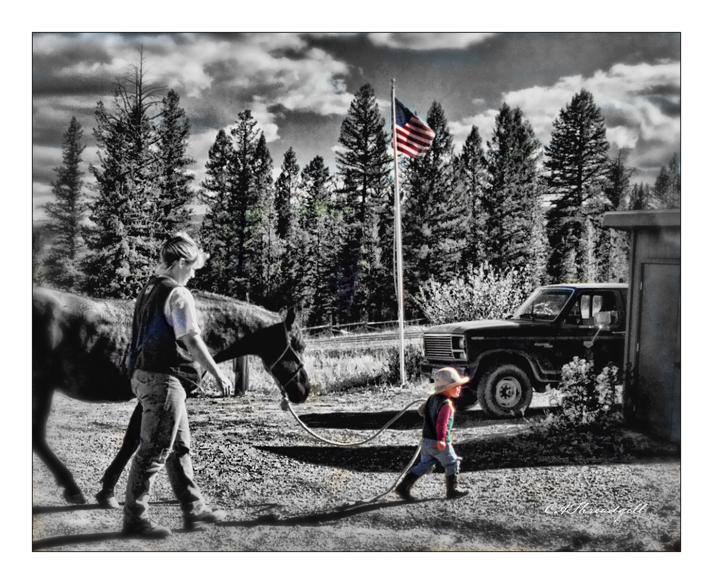 Little Montana Cowboy