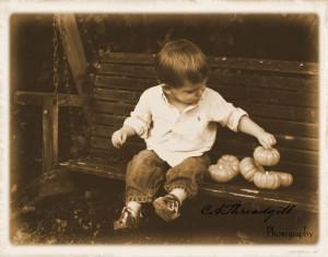 A Little Boy's Curiosity